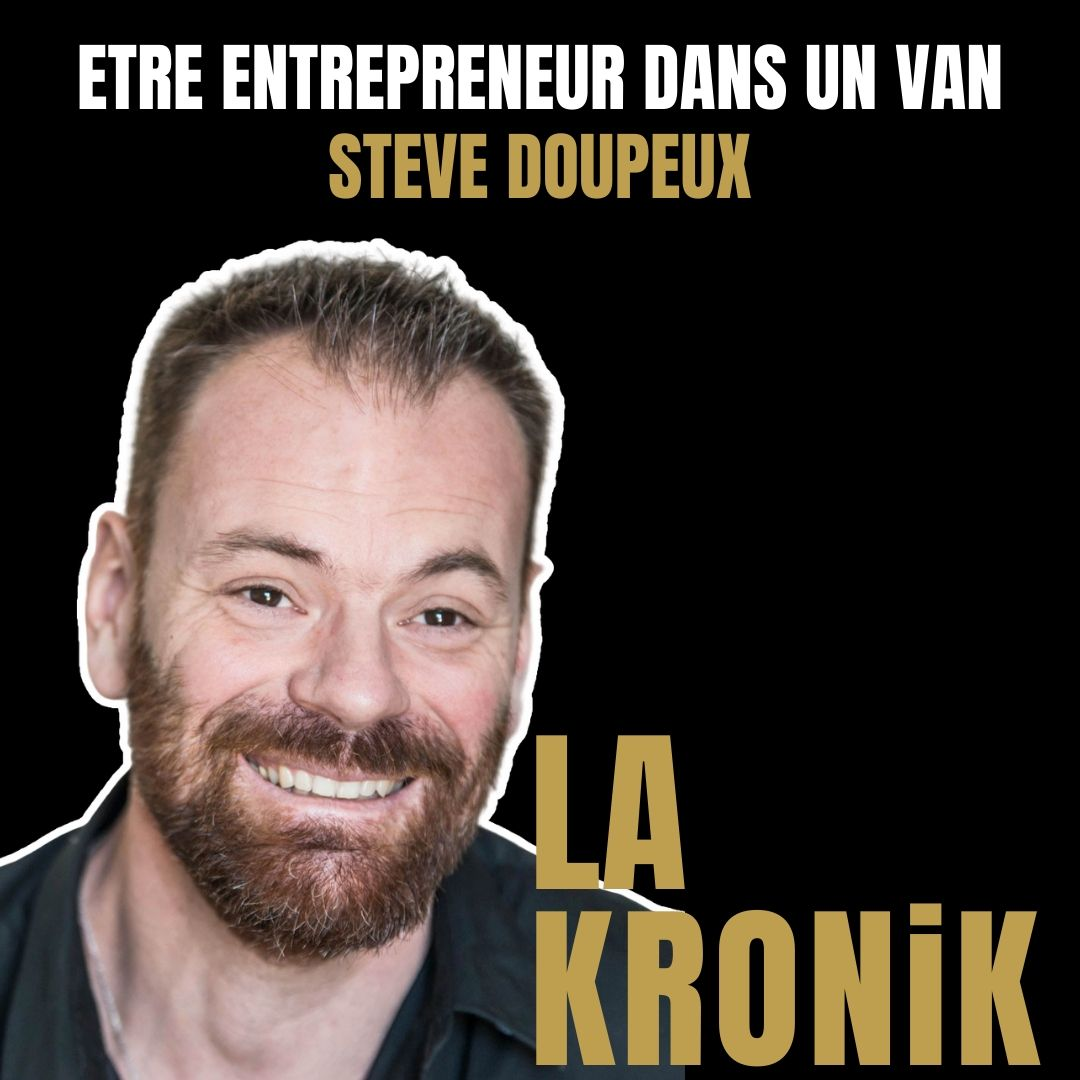 Interview de Steve Doupeux podcast la kronik